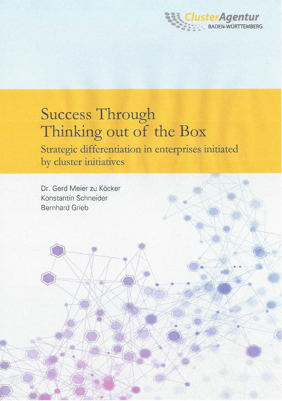 Success through Thinking out of the Box